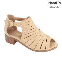 AN-Ibbie-5k Nude Zapatos de nina Mayoreo Wholesale girls Shoes Nantlis