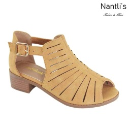 AN-Ibbie-5k Tan Zapatos de nina Mayoreo Wholesale girls Shoes Nantlis