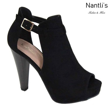 AN-Jadela Black Zapatos de Mujer Mayoreo Wholesale Women Shoes Nantlis