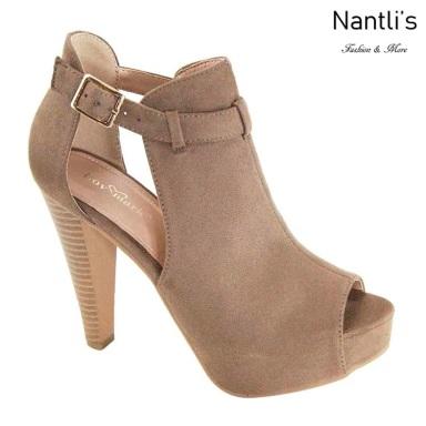 AN-Jadela Taupe Zapatos de Mujer Mayoreo Wholesale Women Shoes Nantlis