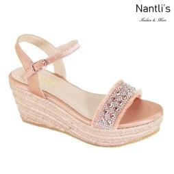 AN-Jama Rose Gold Zapatos de Mujer Mayoreo Wholesale Women Shoes Nantlis