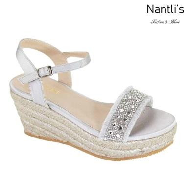 AN-Jama Silver Zapatos de Mujer Mayoreo Wholesale Women Shoes Nantlis