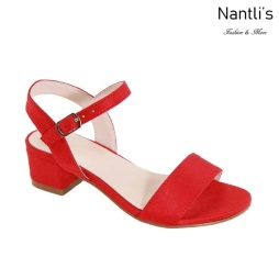 AN-Jean-21K Red Zapatos de nina Mayoreo Wholesale girls Shoes Nantlis