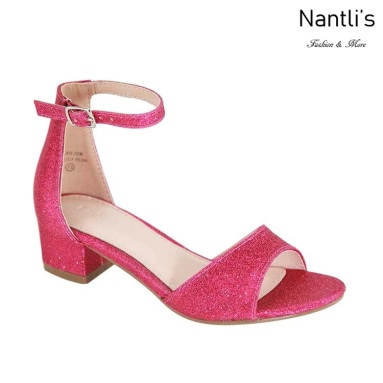 AN-Jean-60K Fuchsia Zapatos de nina Mayoreo Wholesale girls Shoes Nantlis