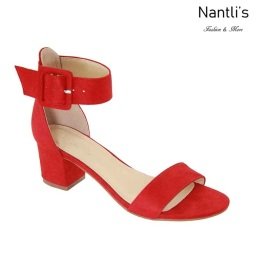 AN-Jean-70 Red Zapatos de Mujer Mayoreo Wholesale Women Shoes Nantlis