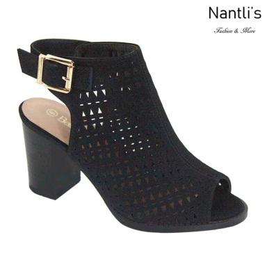 AN-Jesse Black Zapatos de Mujer Mayoreo Wholesale Women Shoes Nantlis