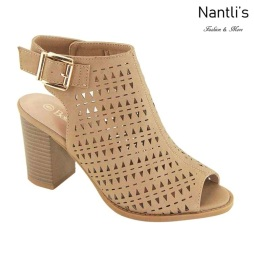 AN-Jesse Tan Zapatos de Mujer Mayoreo Wholesale Women Shoes Nantlis