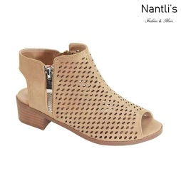 AN-Josefa-1K Light Taupe Zapatos de nina Mayoreo Wholesale girls Shoes Nantlis