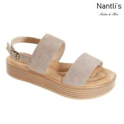 AN-Jupiter-10 Taupe Zapatos de Mujer Mayoreo Wholesale Women Shoes Nantlis