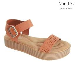 AN-Jupiter-20 Tan Zapatos de Mujer Mayoreo Wholesale Women Shoes Nantlis