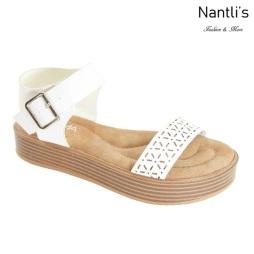 AN-Jupiter-20 White Zapatos de Mujer Mayoreo Wholesale Women Shoes Nantlis
