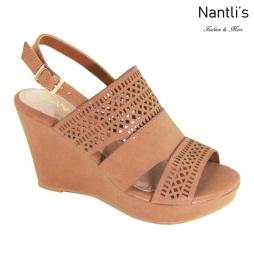 AN-Kammi Tan Zapatos de Mujer Mayoreo Wholesale Women Shoes Nantlis