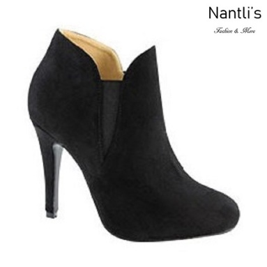 AN-Kendall-10 Black Botas de mujer Mayoreo Wholesale womens Boots Nantlis