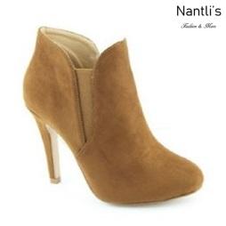 AN-Kendall-10 Chestnut Botas de mujer Mayoreo Wholesale womens Boots Nantlis