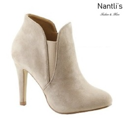 AN-Kendall-10 Light Taupe Botas de mujer Mayoreo Wholesale womens Boots Nantlis