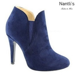 AN-Kendall-10 Navy Botas de mujer Mayoreo Wholesale womens Boots Nantlis