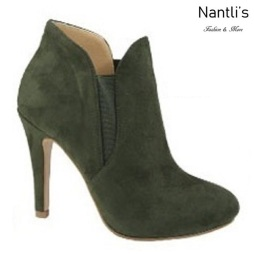 AN-Kendall-10 Olive Botas de mujer Mayoreo Wholesale womens Boots Nantlis