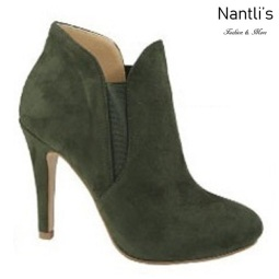 AN-Kendall-10 Olive Botas de mujer Mayoreo Wholesale womens Boots Nantlis