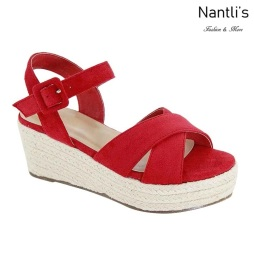 AN-Kimmie-1 Red Zapatos de Mujer Mayoreo Wholesale Women Shoes Nantlis