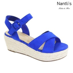 AN-Kimmie-1 Royal Blue Zapatos de Mujer Mayoreo Wholesale Women Shoes Nantlis