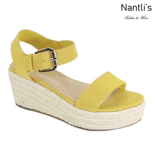 AN-Kimmie-5 Mustard Zapatos de Mujer Mayoreo Wholesale Women Shoes Nantlis