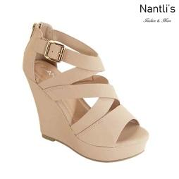 AN-Kirby-09 Chesnut Zapatos de Mujer Mayoreo Wholesale Women Shoes Nantlis