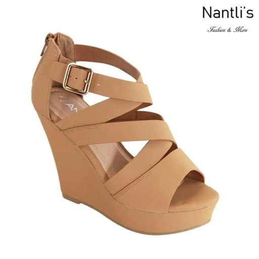 AN-Kirby-09 Tan Zapatos de Mujer Mayoreo Wholesale Women Shoes Nantlis