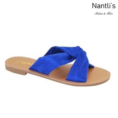 AN-Knotty Royal Blue Zapatos de Mujer Mayoreo Wholesale Women Shoes Nantlis