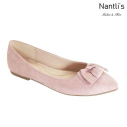AN-Kreme Pink Zapatos de Mujer Mayoreo Wholesale Women Shoes Nantlis