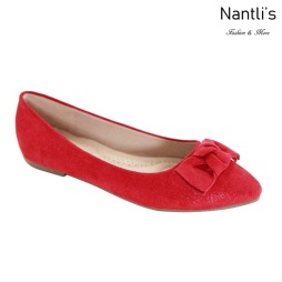 AN-Kreme Red Zapatos de Mujer Mayoreo Wholesale Women Shoes Nantlis