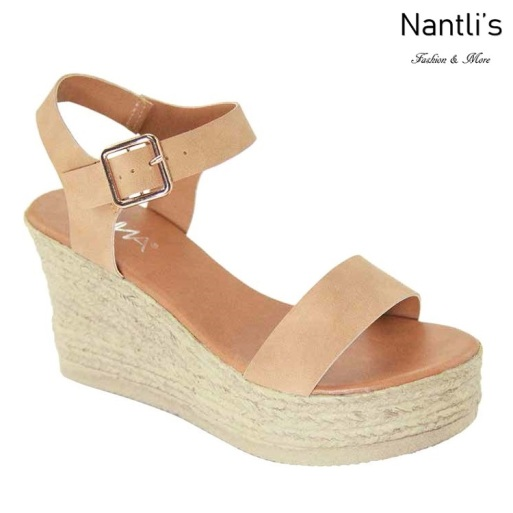 AN-Laguna-10 Tan Zapatos de Mujer Mayoreo Wholesale Women Shoes Nantlis