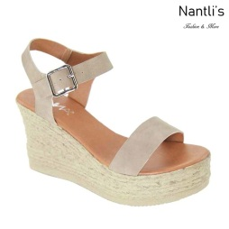 AN-Laguna-10 Taupe Zapatos de Mujer Mayoreo Wholesale Women Shoes Nantlis