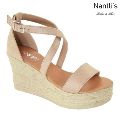 AN-Laguna-5 Natural Zapatos de Mujer Mayoreo Wholesale Women Shoes Nantlis