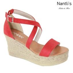 AN-Laguna-5 Red Zapatos de Mujer Mayoreo Wholesale Women Shoes Nantlis