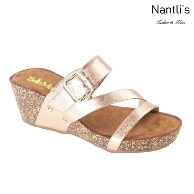 AN-Leeta Rose Gold Zapatos de Mujer Mayoreo Wholesale Women Shoes Nantlis