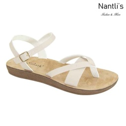 AN-Leyva-50 Beige Zapatos de Mujer Mayoreo Wholesale Women Shoes Nantlis