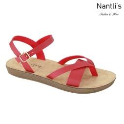 AN-Leyva-50 Red Zapatos de Mujer Mayoreo Wholesale Women Shoes Nantlis