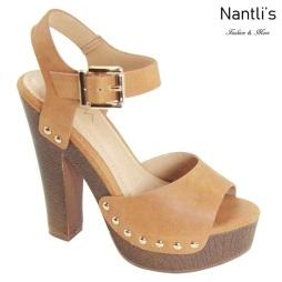 AN-Loula-3 Light Tan Zapatos de Mujer Mayoreo Wholesale Women Shoes Nantlis