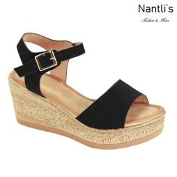 AN-Lulla Black Zapatos de Mujer Mayoreo Wholesale Women Shoes Nantlis