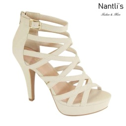 AN-Manola Beige Zapatos de Mujer Mayoreo Wholesale Women Shoes Nantlis