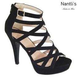 AN-Manola Black Zapatos de Mujer Mayoreo Wholesale Women Shoes Nantlis
