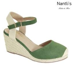 AN-Marla-1 Olive Zapatos de Mujer Mayoreo Wholesale Women Shoes Nantlis