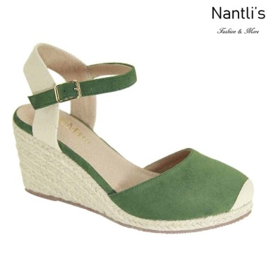 AN-Marla-1 Olive Zapatos de Mujer Mayoreo Wholesale Women Shoes Nantlis