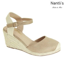 AN-Marla-1 Taupe Zapatos de Mujer Mayoreo Wholesale Women Shoes Nantlis