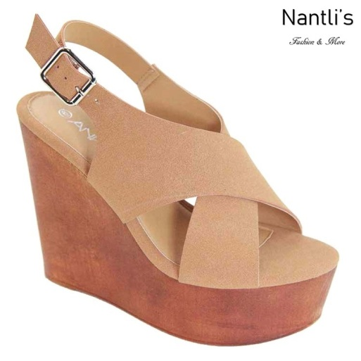 AN-Marta Chesnut Zapatos de Mujer Mayoreo Wholesale Women Shoes Nantlis