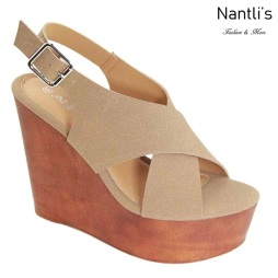 AN-Marta Taupe Zapatos de Mujer Mayoreo Wholesale Women Shoes Nantlis