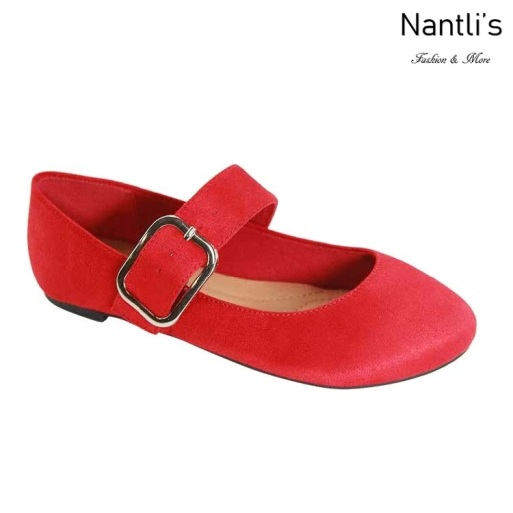 AN-Mattie Red Zapatos de Mujer Mayoreo Wholesale Women Shoes Nantlis