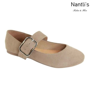 AN-Mattie Taupe Zapatos de Mujer Mayoreo Wholesale Women Shoes Nantlis