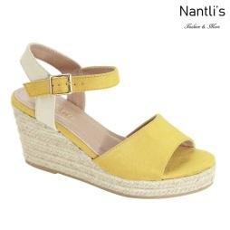 AN-Mayari-10 Mustard Zapatos de Mujer Mayoreo Wholesale Women Shoes Nantlis