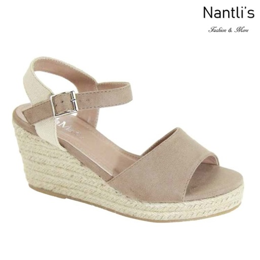AN-Mayari-10 Taupe Zapatos de Mujer Mayoreo Wholesale Women Shoes Nantlis